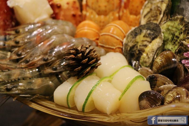原月日式頂級帝王蟹吃到飽板橋燒烤吃116