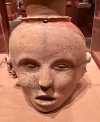 Human Head Jar - NYC (verplanck) Tags: ancientamerica art 1500 clay artifact ancient