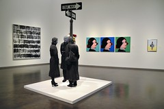 Chance Meeting (jpellgen (@1179_jp)) Tags: kc kansascity mo missouri medwest summer usa america travel roadtrip nikon sigma 1770mm d7000 2017 september museum art nelsonatkins chancemeeting georgesegal andywarhol