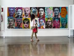 ... Romper con tu Diego Rivera ... (Lanpernas 3.0) Tags: frida kalho arte pintura expo tabakalera mujer retrato libertad donostia
