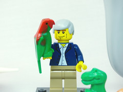 Brick Yourself Custom Lego Celebrity Minifigure David Attenborough2