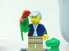 Brick Yourself Custom Lego Celebrity Minifigure David Attenborough2