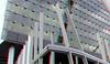 Toren op Zuid Rotterdam 3D (wim hoppenbrouwers) Tags: torenopzuid rotterdam 3d kpn anaglyph stereo redcyan architecture renzopiano kopvanzuid