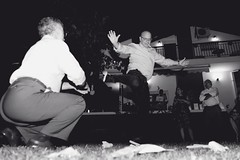 Dancing Zeibekiko 1 (Nikos Karatolos) Tags: nikon d700 dancing night wedding dance greek zeibekiko movement 500px