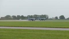 German airforce/luftwaffe Tornado pairs take off in the rain. RAF Coningsby 11/09/17. (Purple Jaguar) Tags: german airforceluftwaffe tornado pairs take raf coningsby 110917 off 2017