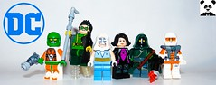 Flash Rogues (Random_Panda) Tags: lego figs fig figures figure minifigs minifig minifigures minifigure purist purists character characters film films movie movies television tv comics superhero superheroes hero heroes super comic book books show shows dc villains toy batman superman wonder woman aquaman green lantern the flash rogues mirror master weather wizard captain cold plastique pied piper heatwave