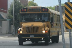 First Student #224534 (ThoseGuys119) Tags: firststudentinc kingstonny schoolbus icce rain rainyday laidlaw 3800