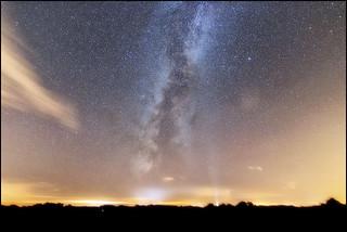 Voie Lactée et Pollution lumineuse