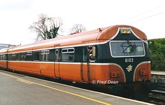 Irish Rail 6103 in Kildare Station. (Fred Dean Jnr) Tags: april1999 irishrail iarnrodeireann kildare kildarestation 6103