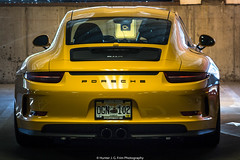 911R (Hunter J. G. Frim Photography) Tags: supercar colorado rally 2017 peaktopeakrally porsche 911r 911 r yellow race manual german limited rare i6 raceyellow porsche911r