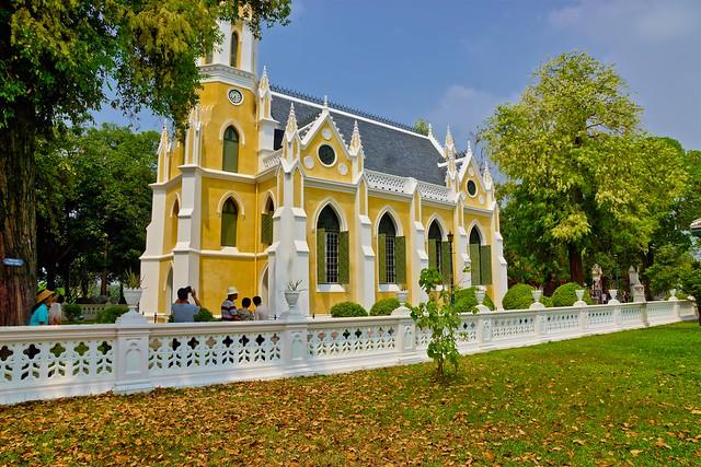 Wat Niwet near Bang Pa-In, Ayutthaya, Thailand large image