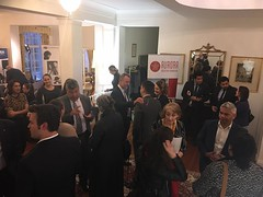 """Charlie Perkins and Roberta Sykes scholarship recipients, British High Commissioners Residence, Canberra, 17/08/2017 • <a style=""""font-size:0.8em;"""" href=""""http://www.flickr.com/photos/33569604@N03/37190127072/"""" target=""""_blank"""">View on Flickr</a>"""