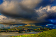 The Cloud (angelofruhr) Tags: clouds wolken strand irland