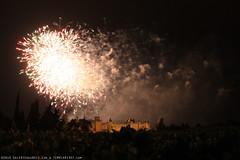 FR10 8131 Le 14 Juillet, la Fête Nationale Française. La Cité de Carcassonne, Aude, Languedoc