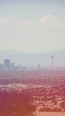 Las Vegas (gold.frank) Tags: instagram dawn filter lasvegas stratosphere vegas skyline city travel casino building mountains mountain