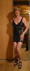 DSC_0006r (magda-liebe) Tags: crossdresser french shoes platform tgirl highheels minidress travesti