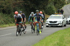 5 Man Breakaway (Steve Dawson.) Tags: tourofbritain mens road race 5 man breakaway lyca britishcycling teams cars lycra bikes stage4 bilsthorpe nottinghamshire england uk canoneos50d canon eos 50d ef28135mmf3556isusm ef28135mm f3556 is usm 6th september 2017
