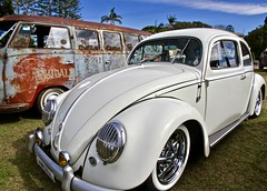 VW Vehicles (*SIN CITY*) Tags: qld australia vw veedub voltswagon bug beatle kombi oz hotrod show custom aussie van camper queensland wheels transport motor car vehicle lowrider kustom kool cool german wagon rusty petina