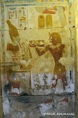 Niche with Osiris (konde) Tags: 19thdynasty newkingdom niche abydos setii ancientegypt osiris hieroglyphs