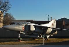 Mig-23UB (Péter_kekora.blogspot.com) Tags: szolnok reptár szolnokirepülőmúzeum aviation aviationhistory museum hungary 2017 february nikon d60
