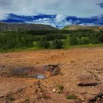 Republic of Iceland ~ Litli Geysir ~ Steam Eruption ~ Landmannalaugar Hiking Route thumbnail