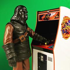 Advanced Weapons Training (WEBmikey) Tags: toys planetoftheapes apes pota arcade namco