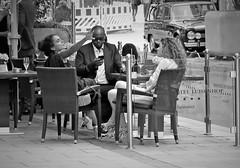 real live (O.Krüger) Tags: niedersachsen deutschland hannover germany streetphotography sw schwarzweis socialdocumentary streetlife streetportrait bw bianconero blackwhite peopleinthecity people personen urban monochrom artofimages