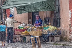 I want that one (Pejasar) Tags: guatemala antigua candid street corner vegetables fruit market