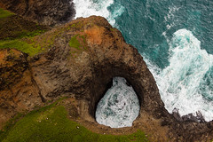 Open Ceiling Sea Cave (Kaua'i Dreams) Tags: hawaii kauai seacave ocean sea napali openceilingseacave openceiling