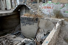 Stairway to Thrash (LookSharpImages) Tags: thrashbird ayte lime oregon limeoregon abandoned abandonedspaces