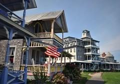 Oak Bluffs, MA (maxwilensky) Tags: marthasvineyard massachusetts oakbluffs newengland nikond7200 town summer americanflag