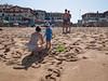À la plage (Dahrth) Tags: panasoniclumixgf1 gf120 lumix20mm micro43 microquatretiers microfourthirds plage beach sun sand sable solarcream crèmesolaire woman bathsuit maillotdebain