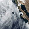 Spiraling Cloud Patterns Over Guadalupe Island (Grypons) Tags: image day by nasa nasaimageoftheday spiraling cloud patterns over guadalupe island