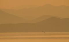 Early morning at the sea (jan.stefka) Tags: canoneos7d morning 2017 peljesac chorvatsko hrvatska mountains boats croatia drace ef100400 sea