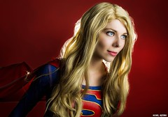 The Red Sun of Krypton... (Ring of Fire Hot Sauce 1) Tags: cosplay supergirl quirkygirlcosplay portrait blonde sandiegocomiccon sdcc