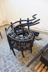 Cannonball rack (quinet) Tags: 2017 antik cannon copenhagen kanone kanonenkugel royaldanisharsenalmuseum ancien antique artillerie artillery bouletdecanon cannonballs canon canone museum zealand denmark