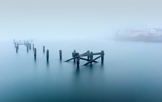 ghostly pier to infinity