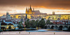 Amber sunset, Prague #15