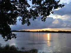 Sunset over Mekong 2017-8-8 3 (SierraSunrise) Tags: clouds mekong mekongriver nongkhai phonphisai reflections rivers skies sky storm sunset sunsets thailand water