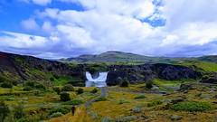 Hjálparfoss (skolavellir12) Tags: water river waterfall iceland fossá hjálparfoss