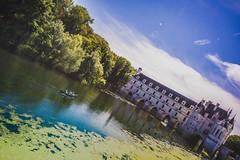 Summer Escape (Koala Krash) Tags: france travel summer city province village town french castle chenonceaux château châteaux de la loire été paysage photography water magic fairy