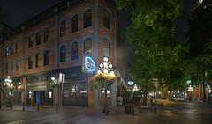 Lamplighter (Jonathan F.V.) Tags: lamplighter vancouver downtown gastown vancity hellobc explorebc explorecanada brenizer method sony a7r samyang135mmf2edumc nightlife