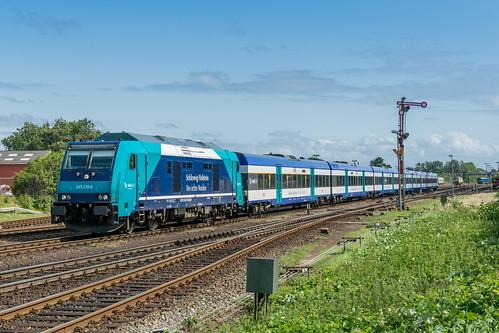 245 210-0 DB NAH.SH Westerland Sylt 21.08.17