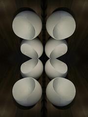 unfinished Pearls (Ed Sax) Tags: edsax abstrakt surreal art photokunst photoart hamburg ball eier perlen sitze stühle braun white
