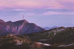 Mt. Ulriken in color (Steinskog) Tags: summer sunset ulriken bergen norway mountain sky landscape rundeman