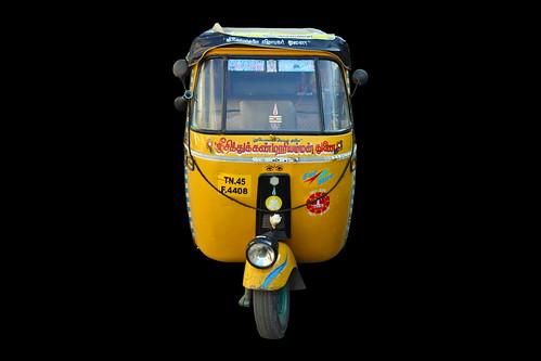 India - Tamil Nadu - Tiruchirappalli - Streetlife - Auto Rickshaw - 103d