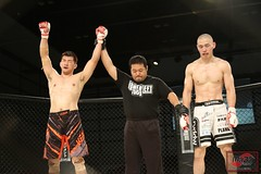 8Y9A6804 (MAZA FIGHT JAPAN) Tags: grachan mma mixed martial arts budo boxing kick punch ring cage tokyo japan japao giappone deep shooto pancrase fight fighting kakutougi maza ota pio hellboy grachan30