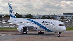 4X-EDA - Boeing 787-9 Dreamliner - LHR (Seán Noel O'Connell) Tags: elal israelairlines 4xeda boeing 7879 dreamliner 787 b789 heathrowairport lhr egll tlv llbg ly315 ely315