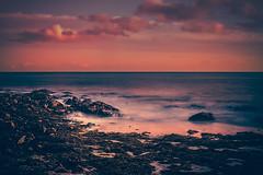 Plage de Combrit Sainte Marine (RoCafe Off for a while) Tags: bretagne combrit france plage seascape sea sky clouds sunset longexposure nature nikkor2470f28 nikond600 beach