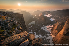 Over the Smoke Band (David Swindler (ActionPhotoTours.com)) Tags: haze windrivers lizardhead sunrise smoky smoke mountains wyoming
